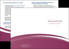 realiser depliant 2 volets  4 pages  texture structure design MLIG44614