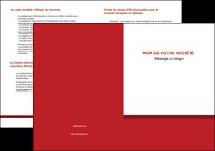 modele en ligne depliant 2 volets  4 pages  texture contexture structure MLGI44648