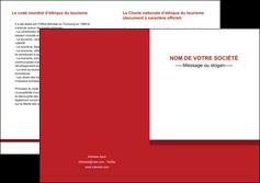 imprimerie depliant 2 volets  4 pages  texture contexture structure MLGI44658