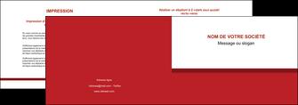faire modele a imprimer depliant 2 volets  4 pages  texture contexture structure MLGI44672