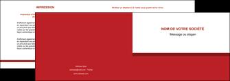 modele depliant 2 volets  4 pages  texture contexture structure MLGI44674