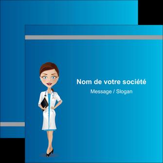 personnaliser modele de flyers infirmier infirmiere medecin docteur infirmier MLGI44808