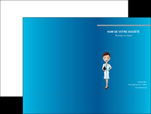 modele pochette a rabat infirmier infirmiere medecin docteur infirmier MLGI44826