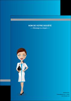 personnaliser maquette affiche infirmier infirmiere medecin docteur infirmier MLGI44836