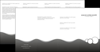 personnaliser modele de depliant 4 volets  8 pages  texture contexture structure MLGI44912