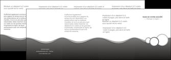 cree depliant 4 volets  8 pages  texture contexture structure MLGI44918