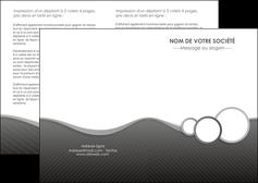 faire modele a imprimer depliant 2 volets  4 pages  texture contexture structure MLGI44920