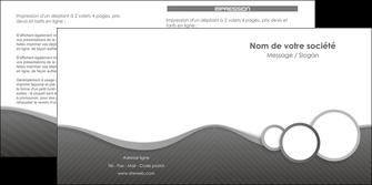creation graphique en ligne depliant 2 volets  4 pages  texture contexture structure MLIG44932