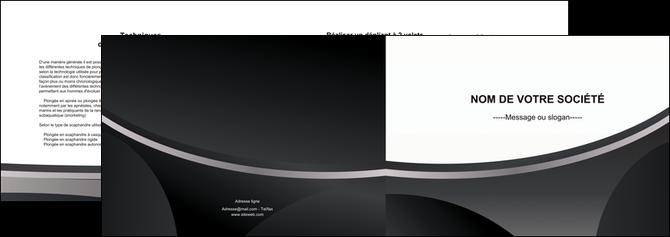 faire modele a imprimer depliant 2 volets  4 pages  texture structure design MLGI44972