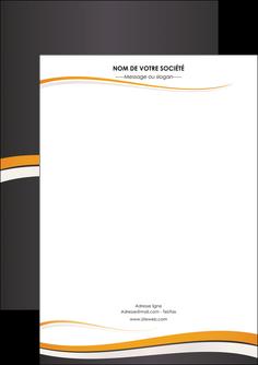 maquette en ligne a personnaliser flyers standard design abstrait MIF45094