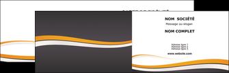 Commander imprimerie carte de visite vernis selectif  Carte commerciale de fidélité modèle graphique pour devis d'imprimeur Carte de visite Double - Paysage