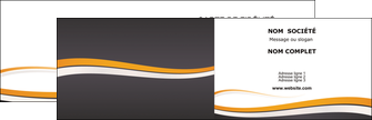 realiser carte de visite standard design abstrait MLGI45114