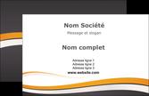 faire carte de visite standard design abstrait MLIP45116