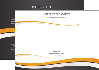 Impression création tract  creation-tract Flyer A4 - Paysage (29,7x21cm)