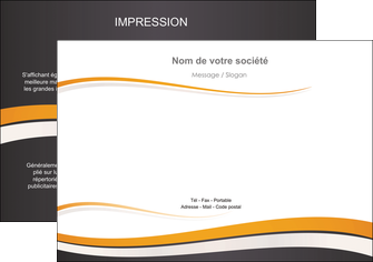 creation graphique en ligne flyers standard design abstrait MIF45130