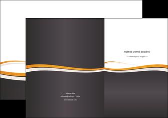 personnaliser maquette pochette a rabat standard design abstrait MLGI45136