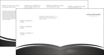 personnaliser modele de depliant 4 volets  8 pages  standard design abstrait MIF45148