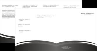 personnaliser modele de depliant 4 volets  8 pages  standard design abstrait MLGI45148