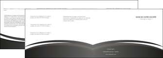 faire modele a imprimer depliant 4 volets  8 pages  standard design abstrait MIF45150