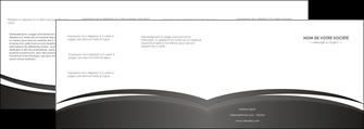 faire modele a imprimer depliant 4 volets  8 pages  standard design abstrait MLGI45150