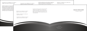 imprimer depliant 4 volets  8 pages  standard design abstrait MLIG45152