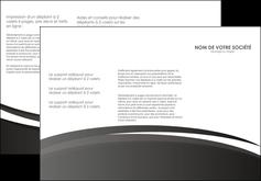 imprimerie depliant 3 volets  6 pages  standard design abstrait MLIG45162