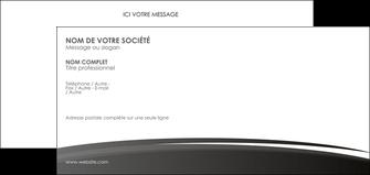 realiser carte de correspondance standard design abstrait MLGI45166