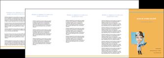 exemple depliant 4 volets  8 pages  materiel de sante medecin medecine sante MIS45290