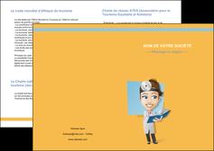 imprimerie depliant 2 volets  4 pages  materiel de sante medecin medecine sante MIS45328