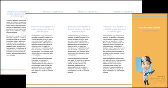 imprimerie depliant 4 volets  8 pages  materiel de sante medecin medecine sante MIS45336