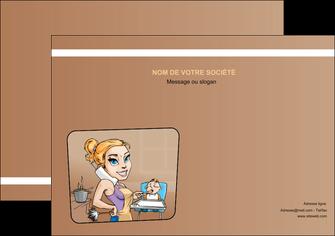 personnaliser maquette flyers menagere femme femme au foyer MLGI45380