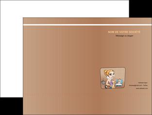 maquette en ligne a personnaliser pochette a rabat menagere femme femme au foyer MLGI45400