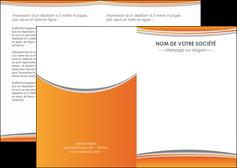 personnaliser maquette depliant 2 volets  4 pages  standard design abstrait MLGI45570