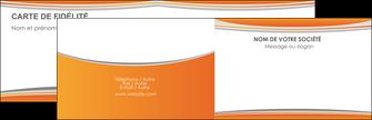 realiser carte de visite standard design abstrait MLGI45574