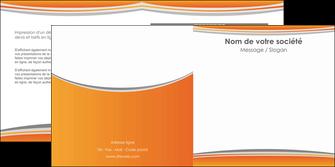 personnaliser modele de depliant 2 volets  4 pages  standard design abstrait MLGI45582