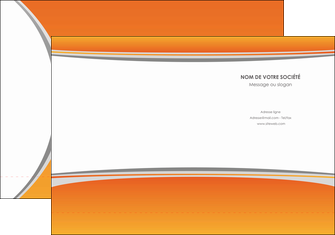 realiser pochette a rabat standard design abstrait MLGI45588