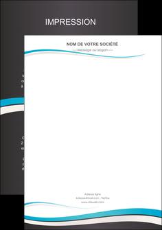 imprimerie flyers standard design abstrait MIF45700