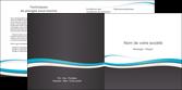 cree depliant 2 volets  4 pages  standard design abstrait MLGI45704