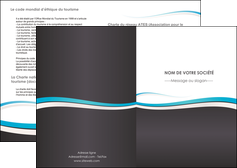 faire modele a imprimer depliant 2 volets  4 pages  standard design abstrait MLGI45710