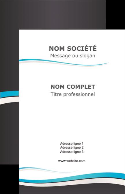 personnaliser modele de carte de visite standard design abstrait MLGI45718