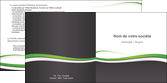 maquette en ligne a personnaliser depliant 2 volets  4 pages  standard design abstrait MLGI45760