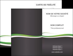 Commander Impression Carte 9x5 5 Cm Pelliculage Mat Commerciale De Fidelite Modele Graphique Pour Devis