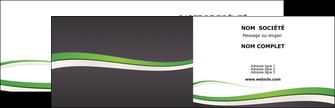 faire modele a imprimer carte de visite standard design abstrait MIF45764