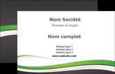maquette en ligne a personnaliser carte de visite standard design abstrait MLGI45766