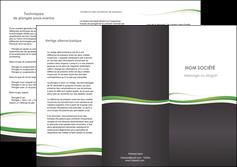 faire modele a imprimer depliant 3 volets  6 pages  standard design abstrait MIF45786