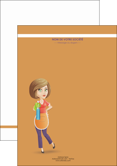 modele en ligne affiche menagere femme femme au foyer MLGI45792