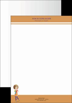 creation graphique en ligne tete de lettre menagere femme femme au foyer MLGI45794
