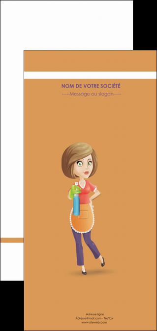 maquette en ligne a personnaliser flyers menagere femme femme au foyer MLGI45806