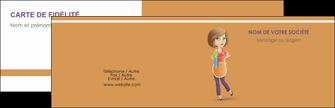modele en ligne carte de visite menagere femme femme au foyer MLGI45808