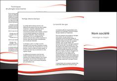 modele depliant 3 volets  6 pages  texture contexture structure MLGI45826